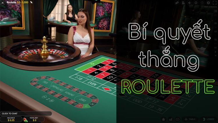 bí quyết thắng roulette